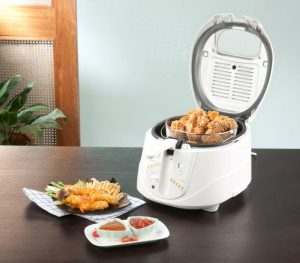 friteuza cu aer cald